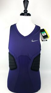 Nike Pro Combat Hyperstrong Basketball Compression Shirt Purple Size XL $75