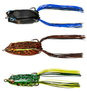 Booyah Baits Jason Christie Hollow Body Frog Combo 3 Pack Bass amp; Pike Frog Lures