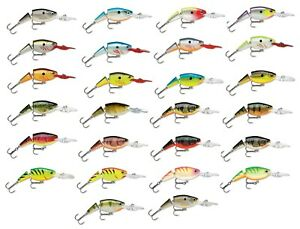Rapala JSR07 Jointed Shad Rap 2 3 4 inch Deep Jointed Crankbait Fishing Lure