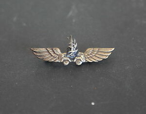 IDF Israeli Army Metal Pin War of Independence 1948 1950's Winged Combat Vehicle