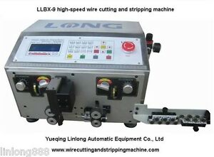LLBX-9 high-speed Wire Cutting & Stripping machine cable stripping for AWG16-28