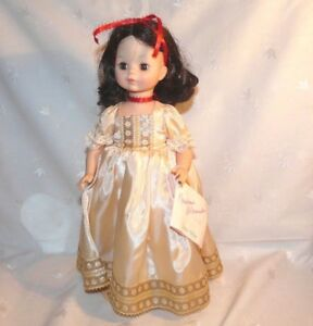 Madame Alexander Snow White Doll 13in.