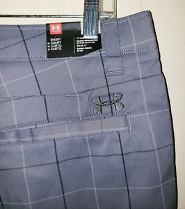 Under Armour Professional Golf Shorts Mens 36 NWT $74.99 Gray