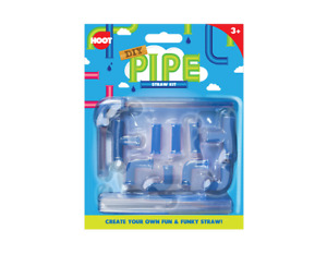 DIY Pipe Straw Kit Create Your Own Fun amp; Funky Straw Bendy Party Reusable