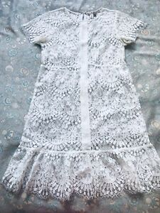 For Love and Lemons White Lace Cocktail Dress Size XS