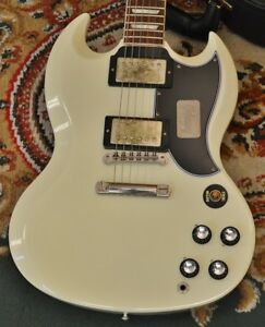 Gibson Custom Shop Historic Collection SG Standard Classic White