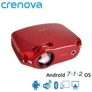 CRENOVA 2019 Newest Android 7.1 OS Video Projector For Full HD 4K Home Theater M