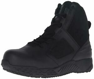 Under Armour Men's Zip 2.0 Protect Military and Tactical Boot BlackBlackBlack