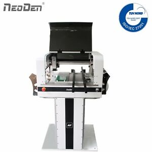 Low Cost Pick and Place Machine NeoDen4 Auto Rails 8 Electric Feeders FPGA 0201