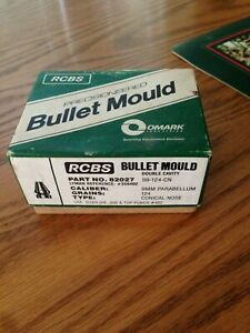 RCBS BULLET MOLD 9MM 82027 09 -124 THE BEST ONE FOR THE SERIOUS LOADER