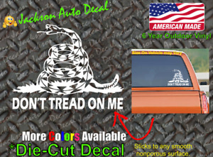 Don't Tread On Me Gun Rights 2a Amendment Bumper Sticker Car Vinyl Window Decal