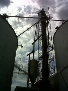 Grain Elevator Tower 10'x10'x110' with stairs