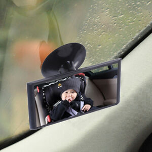1X Car Truck Easy View Rear Back Seat Baby Child Safety Mirror Suction Mirror BH