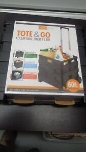 Simplify Tote & Go 15 in. x 13 in. x 14.2 in. Collapsible Utility Cart