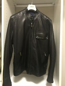 BENSON New York Mens Leather Jacket - Great Conditioni