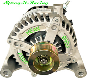 2012-2018 JEEP JK 3.6L MEAN GREEN High Amp Alternator 200+amps with Warranty