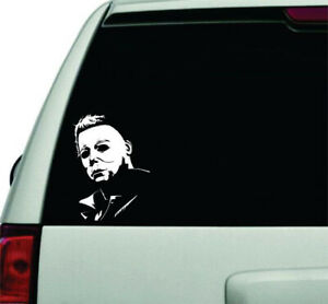 Michael Myers Permanent Waterproof Decal