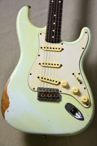 Fender CS Master Design1959 Stratocaster Relic Sonic Blue John English 2005