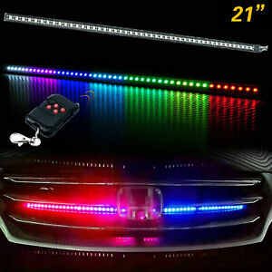 24quot; RGB LED Knight Rider Strip Scanning Light Behind Grill For Chevy Trucks $22.89