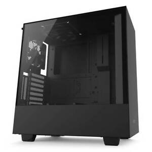 NZXT H500i No Power Supply ATX Mid Tower w Lighting & Fan Control (Matte Black)