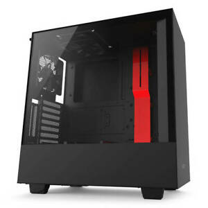 NZXT H500i No Power Supply ATX Mid Tower w Lighting & Fan Control
