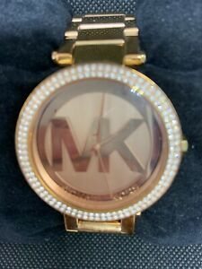 Michael Kors MK5865 Women's Watch Rose Gold Dial Stainless Steel Bracelet O907