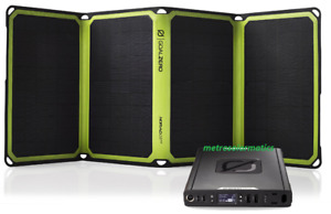 100 AC Power Bank Sherpa + Nomad 28 Plus Goal Zero Solar Charger