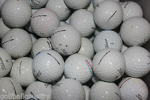 48 Titleist Pro V1 Hit Away AA Used Golf Balls FREE US SHIPPING