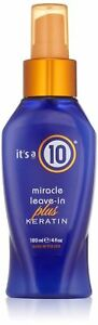 Its a 10 by ITS A 10 Miracle Leave in Plus Keratin 4oz All Hair Unisex 4OZ $17.00