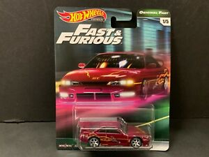 Hot Wheels Nissan Silvia 240SX S14 Fast and Furious GBW75 956B 1 64