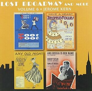 VARIOUS ARTISTS - L Broadway And More - Volume 6 - Jerome Kern - CD - *Mint*