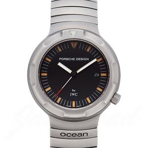 IWC PORSCHE DESIGN by IWC Ocean 2000 3504 Antique from Japan Used