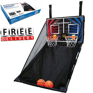 Basketball Kid Hoop Over The Door Indoor Training Portable Goal Youth Child Gift