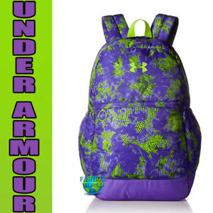 Under Armour Girls' Favorite Backpack Laptop Book School Bag 1277402 Purple