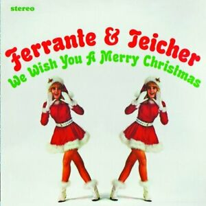 FERRANTE & TEICHER - We Wish You A Merry Christmassnowbound - CD - Limited Mint