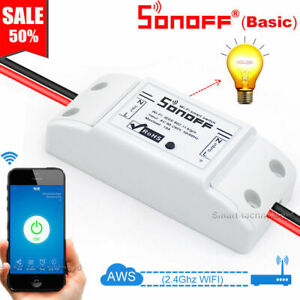 Sonoff Switch Relay Module Timer Smart WiFi Wireless Remote For iphone amp; Android