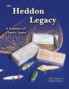 HEDDON LEGACY By Rob Pavey - Hardcover *Excellent Condition*