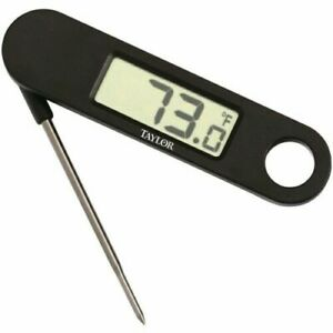 New Taylor 1476 Digital Compact Folding Thermometer 1476N9