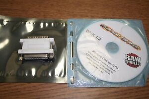 FAST & FURIOUS SUPER BIKES RAW THRILLS DONGLE AND RECOVERY DISK SET V3.04 USED