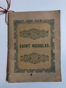 VTG REPRODUCTION OF 1849 BOOKLET