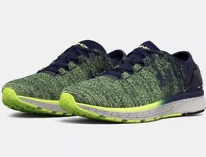Under Armour Charged Bandit 3 Men's Running Shoes Navy Lime 1295725 752 $69.95