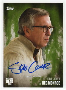 2016 TOPPS Walking Dead 5 Steve Coulter as Reg Monroe Mold Autograph Card 0825