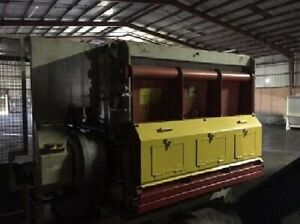 100 HP Lindner MS2000 Single Shaft 80