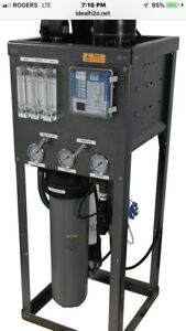 IDEAL H20 REVERSE OSMOSIS Catalytic Carbon Filter 6000 GPD GROW HYDRO SYSTEM