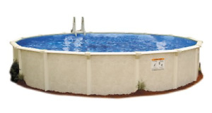 Embassy Pool 4-2412 PARA100 Above Ground Swimming Pool 24-Feet by 12-Feet by