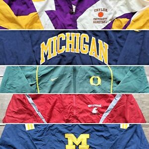 Vintage Wholesale Lot University Coach Starter Nike Jacket Mix x 50