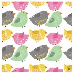 The Gift Wrap Company 5#x27; Gift Wrap Roll Lil#x27; Chicks 51 3748