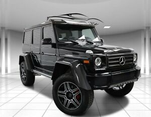 2018 G-Class G 550 G Wagon 4x4² Squared Perfect!  Blacked Out 2018 Mercedes-Benz G-Class Black with 1007 Miles available now!