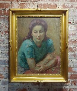 Mischa Ashkenazy Portrait of a Woman Oil painting $4900.00