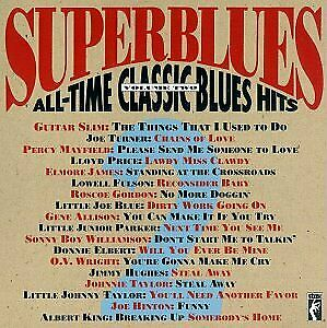 SUPERBLUES - Superblues: All-time Classic Blues Hits Volume Two - CD - Mint